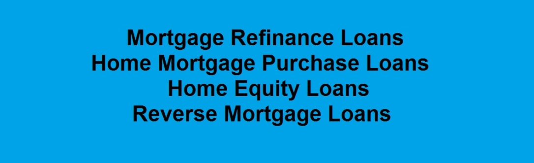 Mortgage Refinance Loans Home Equity Loans Mortgage Purchase
